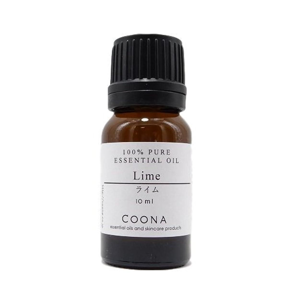 結論完全に乾く強化ライム 10 ml (COONA エッセンシャルオイル アロマオイル 100%天然植物精油)