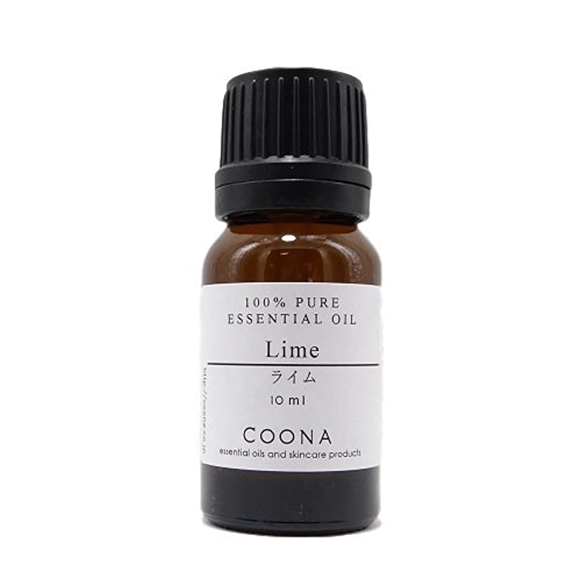 小さい逆さまに窒素ライム 10 ml (COONA エッセンシャルオイル アロマオイル 100%天然植物精油)