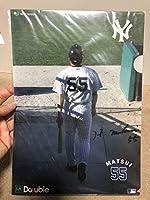 松井秀喜 クリアファイル ヤンキース ジャイアンツ
