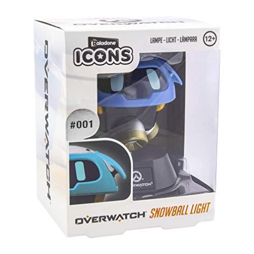 Paladone Sneeuwbal Icon Licht BDP Collectable Lucio Lamp | Ideaal voor Kids Slaapkamers, Kantoor & Huis | Pop Culture Gaming Merchandise, Blauw