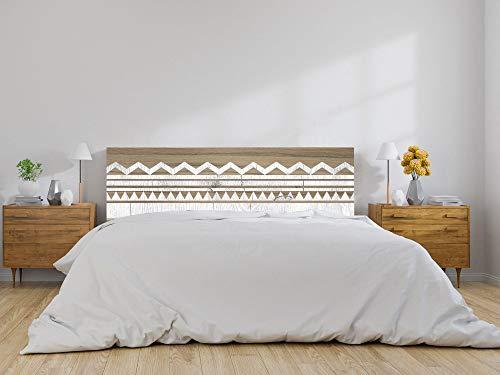 Oedim Cabecero Cama Madera con Líneas, cabecero Decorativo para Camas, decoración para Habitaciones