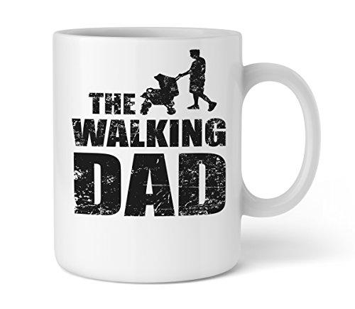 Shirtinator Geschenk-Tasse für Papa I The Walking Dad I Geschenkideen Vatertag Geburtstag Vatertagsgeschenk-e