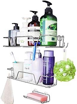 3-Pack Heapany Shower Caddy Bathroom Organizer