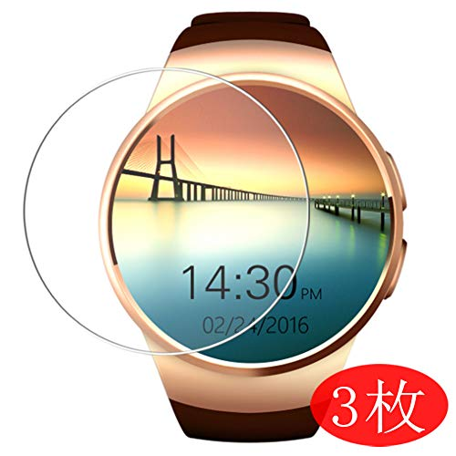 Vaxson 3 Stück Schutzfolie kompatibel mit Evershop Keoker K18 KW18 Smartwatch 1.3