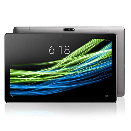 ELLENS Tableta Android de 11.6 Pulgadas, 4GB RAM 64GB ROM 128GB Extensión, Batería 8000mAh, Soporte WiFi, Bluetooth, GPS