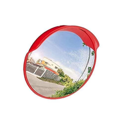 Espejo de Punto Ciego del automóvil, colisión no deformada Espejo Convexo Espejo de tráfico Cuadrado de Hospital Durable Lente Gran Angular fácil de Instalar (Tamaño: 100 cm)