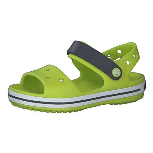 Crocs Unisex Kinder Crocband Sandal Kids, Grün (Lime Punch), 22-23