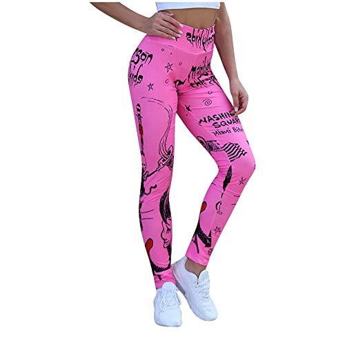 Samore Damen High Waist Leggings Blickdichte Sporthosen Fitness Lange Yogahose Frauen Fitnesshose Jogginghose
