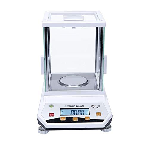 ZCY Laboratorio Preciso Analítico Equilibrar Electrónico Balanzas, Laboratorio Digital Electrónico Balanzas para Químico Minerales Experimentar Oro Enseñando 0.001g (Capacity : 500g\0.001g)