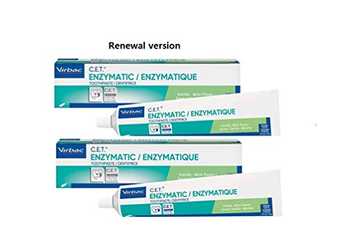 CET Enzymatic Toothpaste 25 Ounce VanillaMint Flavor 2 Pack