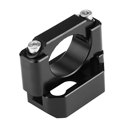 22mm-28.6mm Speed Gear Display Halter passend für Speed Gear Display Halterung Blinkerhalter Halterung Schwarz