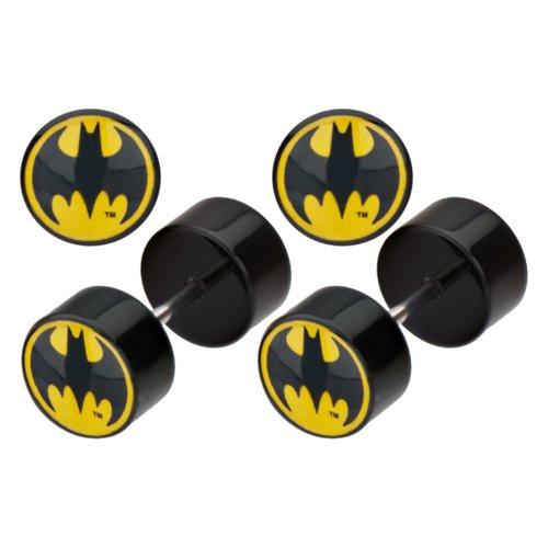 Cuerpo Online de joyería - acero quirúrgico acrílico Batman sintética tapones para los oídos