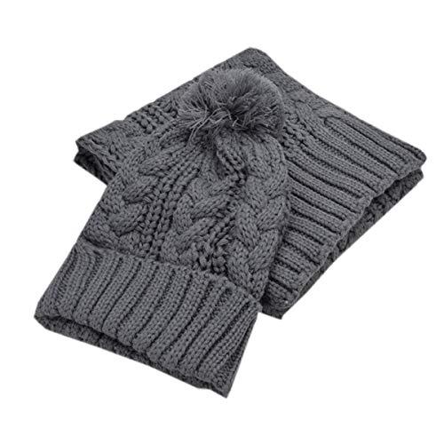 Dames muts sjaal set herfst warme winter chic gebreide muts elegant eenvoudig casual meisjes Stola beanie muts