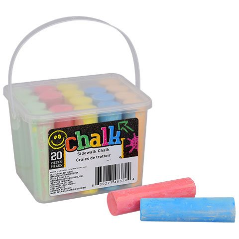 Greenbrier Sidewalk Chalk, 20-ct. Box