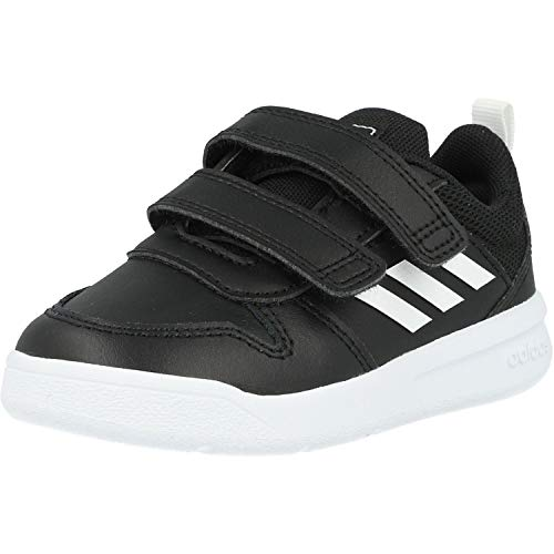Adidas Tensaur I, Zapatillas de Estar por casa, Negro (Negbás/Ftwbla/Negbás 000), 26 EU