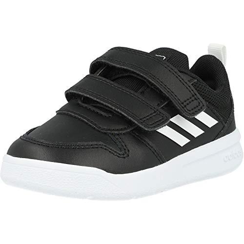 Adidas Tensaur I, Zapatillas de Estar por casa Unisex niños, Negro (Negbás/Ftwbla/Negbás 000), 20 EU