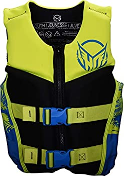 HO Youth Pursuit CGA Kids Wakeboard Vest Blue/Yellow Youth