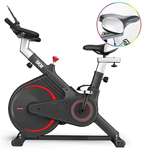 JUYHTY Roterende hometrainer, instelling van de wielweerstand van roestvrij staal, dikke stalen buis, 240 kg dragende fiets, geschikt voor mannen en vrouwen, afmetingen: 1090 x 535 x 880 mm