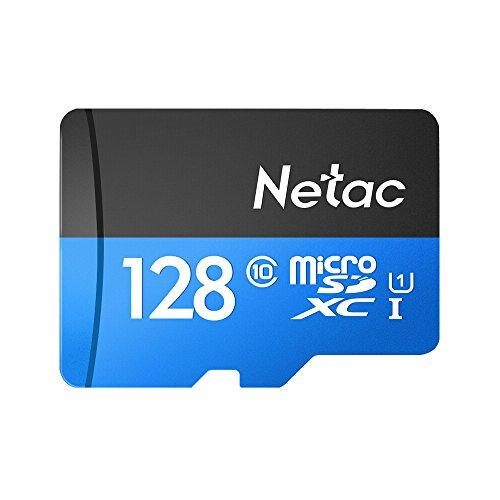 Cartão Memória MicroSD/Micro SDXC 128GB 80MBs Netac