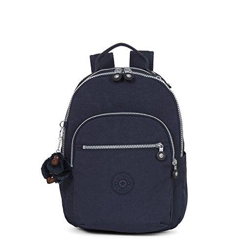Kipling womens Seoul GO S True Blue Backpack, true blue, One Size