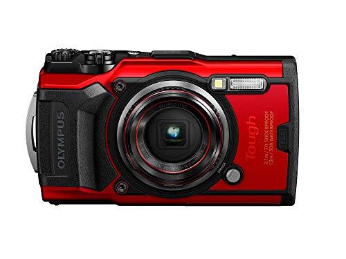 Olympus Tough TG-6 Waterproof Camera, Red...