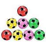 BESPORTBLE 8 Pièces Enfants Ballons De Sport Gonflable De Football Ballons De Soccer Ballons De Plage pour pour Arrière- Cour Jeux Sports de Plein Air dans Les Cours D' école Activités