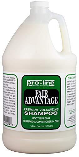 Chris Christensen Pro-Line Fair Advantage Shampoo and Conditioner - Premium Volumizing Shampoo for Dogs - Builds Body While Providing Moisture - Anti Static Formula - 2 in 1 Shampoo and Conditioner
