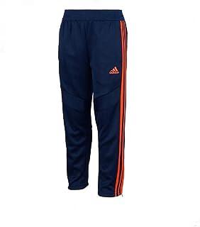 adidas Unisex Kids Tiro 19 Training Pants (Navy/Orange, 5)