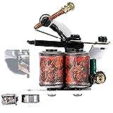 28000R / Min Máquina de tatuaje de carrete integrada secante, Máquina de tatuaje de transferencia de agua(mcs03)