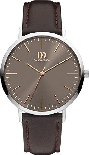 Danish Designs DZ120540 - Orologio da polso, Uomo, Pelle, colore: Marrone