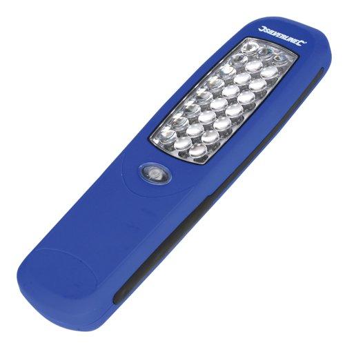 Silverline 564789 - Linterna magnética (24 LED)