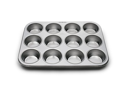 12-Cup Muffin Stainless Steel Baking Pans