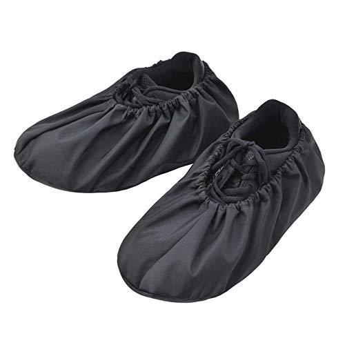 Gaoqi Cubiertas de Botas de Zapatos Reutilizables para contratistas Antideslizantes Lavable Impermeable