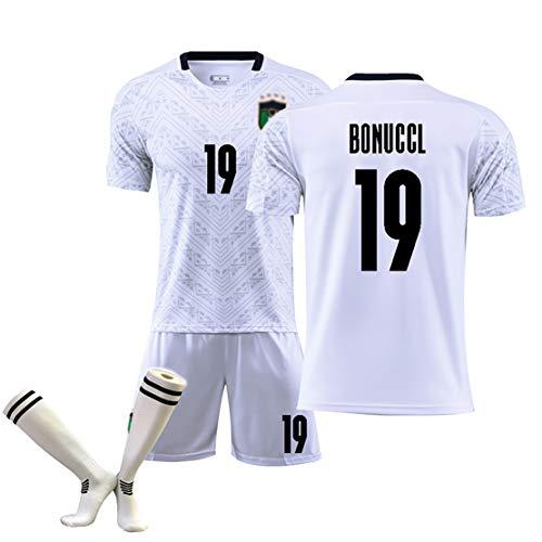 OBTAIN Klassisches Trikot der Nationalmannschaft 2020, Marchisio Iimmobile Bonuccl Plrlo, Nr. 8 Nr. 11, Kinder/Erwachsene, wiederholbare Reinigung-19#-S