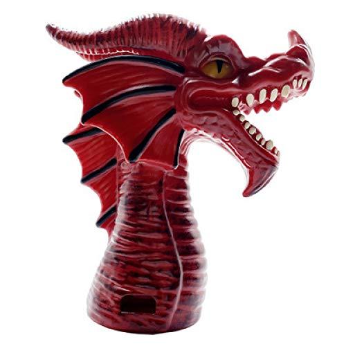 YUY Inverseur De Vapeur, Soupape De Vapeur D'autocuiseur Dragon Cracheur De Feu Mignon pour Les Fournitures De Cuisine Autocuiseur Pot, Séparateur De Vapeur Pratique,Red