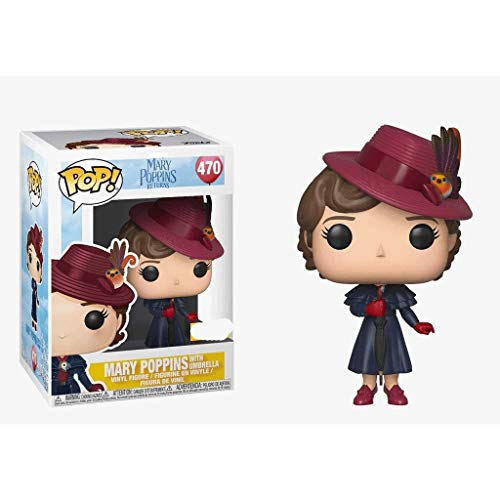 Funko Pop Movies : Mary Poppins with Umbrella 3.75inch Vinyl Gift for Movie Fans SuperCollection