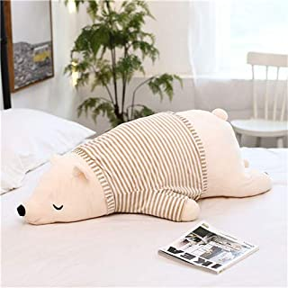 WOIA 2019 New I Dressing Polar Bear Plush Doll Super Soft Stuffed Wearable Bear Pillow Animal Plush Toy Kids Gifts Must Have Tools Funny Gifts The Favourite Superhero Unboxing Toys