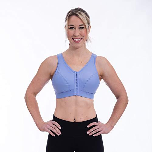 ENELL, Lite, Women's Full Coverage Sports Bra - Lavender, Size 1