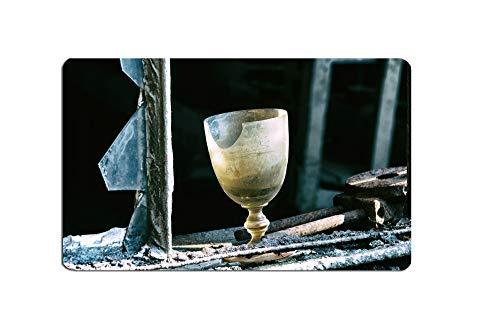 Frühstücksbrettchen altes Weinglas Fotografie Brettchen aus Melamin, spülmaschinenfest, Schneidebrett 14 x 23 cm