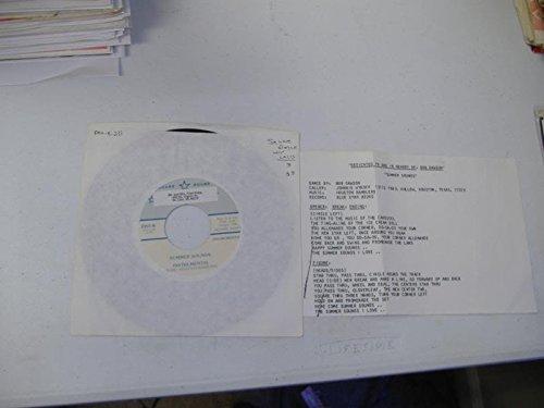 JOHNNIE WYKOFF 45 RPM Summer Sounds (Instrumental) / Summer Sounds