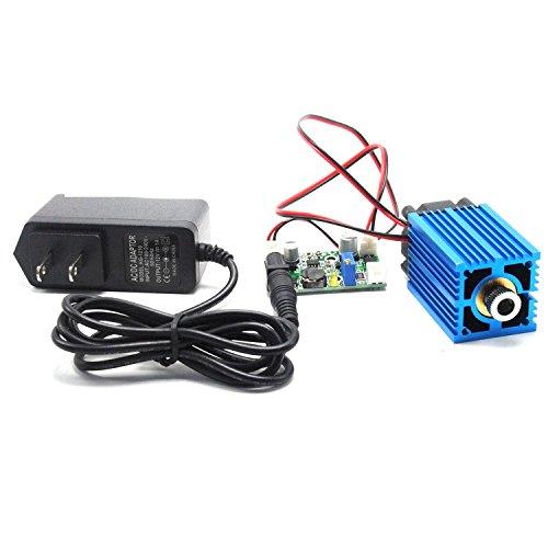 Blauer 445nm 450nm 100mw-Punktdioden-Lasermodul aus Messing