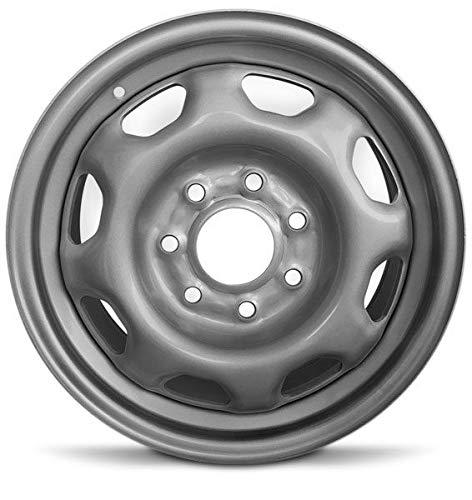 Road Ready Car Wheel for 2010-2014 Ford F150 17 inch 7 Lug Silver steel Rim Fits...