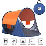 Asteri POP UP Beach Tent 2 Person Anti-UV 50+ Sun shelters Automatic Instant