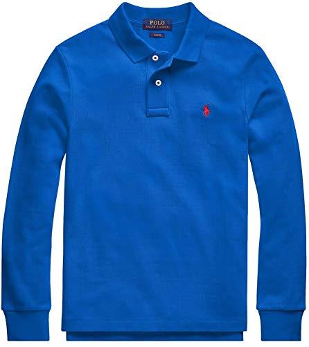 Polo Ralph Lauren Boys Long Sleeve Rugby Polo Shirt (L, RugbyRoyal)