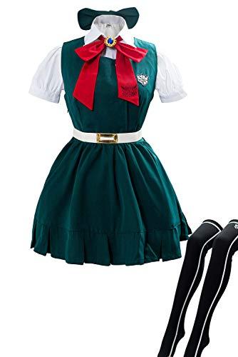 Danganronpa Sonia Nevermind Cosplay Dress Costume Halloween Super 2 Sayonara Zetsubo Japanese School Uniform Outfit