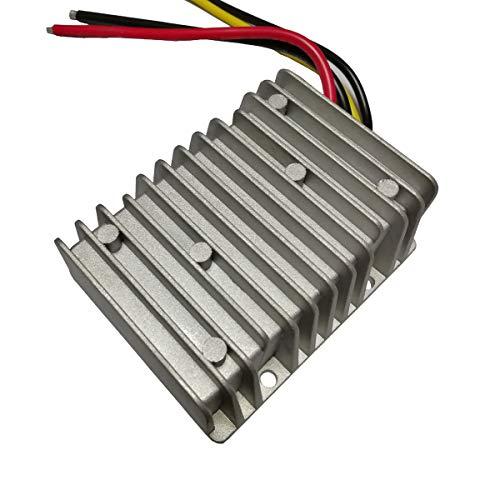 Estabilizador de Voltaje DC-DC Impermeable 12 V Paso hasta 24 V Fuente de alimentación regulador DC convertidor para Auto, camión, vehículo, Barco, Sistema Solar IC Equipos de comunicación