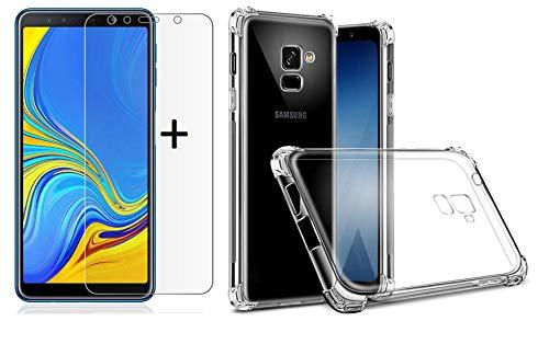 Capa Case Em Tpu Para Galaxy A8 PLUS 2018 - !