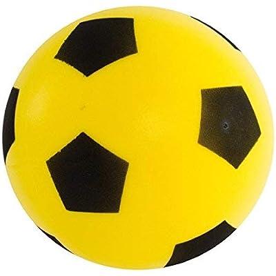 17.5cm Foam Sponge Football Ball Soft Baby Indoor Outdoor Soccer Toy Game Garden