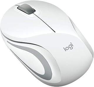 ロジクール M187rWH ワイヤレスマウス 無線 マウス ミニマウス 超小型 M187r 小型 ワイヤレス ホワイト 国内正規品 3年間無償保証