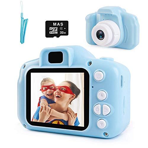 NIERBO Cámara para niños 8.0MP 1080P HD Mini cámara de Video Digital para niños Regalos de Juguete de…